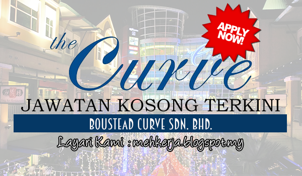 Jawatan Kosong Terkini 2017 di Boustead Curve Sdn. Bhd.