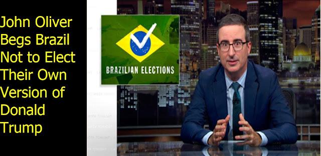 John Oliver Begs Brazil