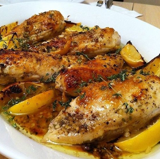 Pressure Cooker Lemon Garlic Chicken Recipe
