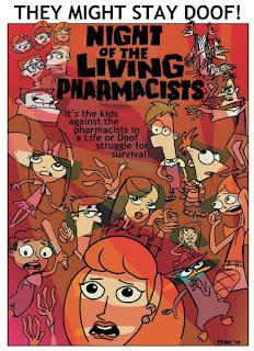 Phineas şi Ferb Noaptea Zombilor Doof Dublat în Română