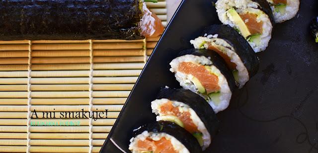 Domowe sushi - wcale nie takie trudne!