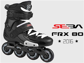 roller inline adulte skatecross freeskate seba FRX 80mm rollerskate