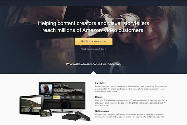Amazon busca competir con Youtube con su nuevo servicio de video - Video Direct