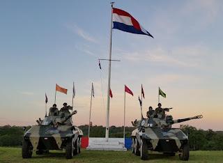 Celebran Dia de la Caballeria en el Regimiento RC4 Aca Caraya