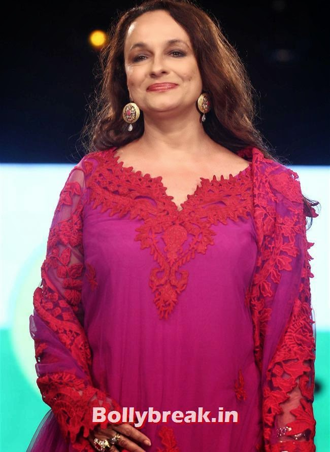 Soni Razdan, Celebs Sizzle in Ramp at Charity Fashion Show of Smile Foundation
