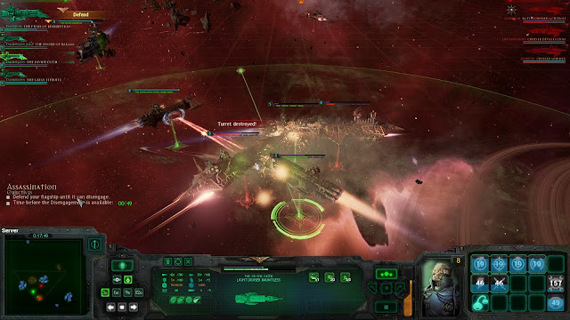 Review – Battlefleet Gothic: Armada chaos imperial navy ram