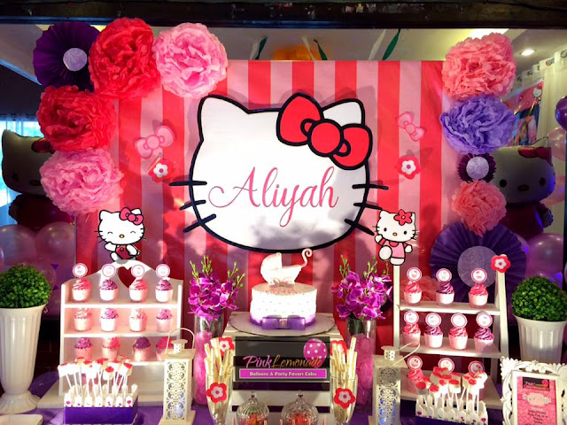 Hello Kitty Balloon Decor
