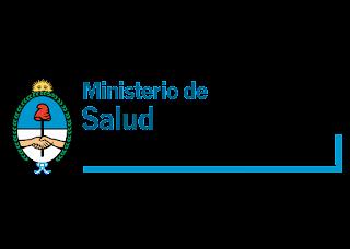 Ministerio de Salud Presidencia de la Nación Logo Vector