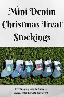 Mini Christmas Treat Stockings from Jeans
