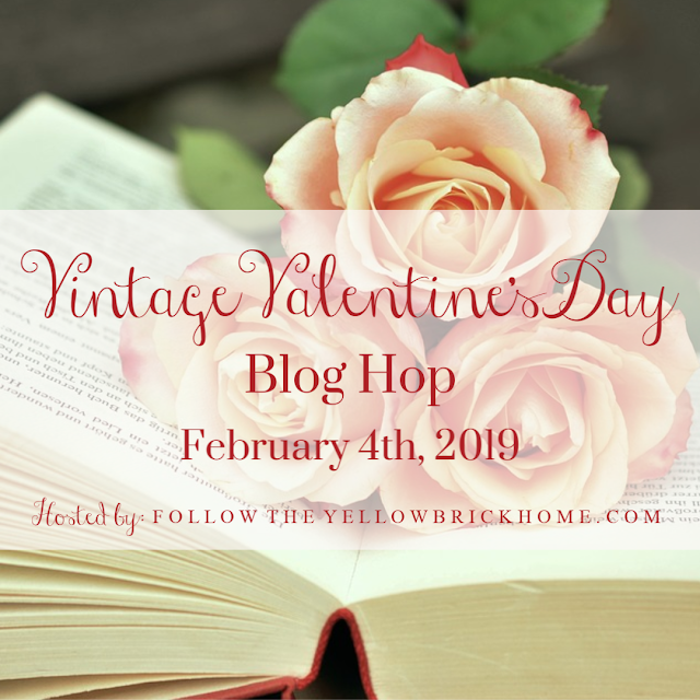Vintage Valentine Blog Hop