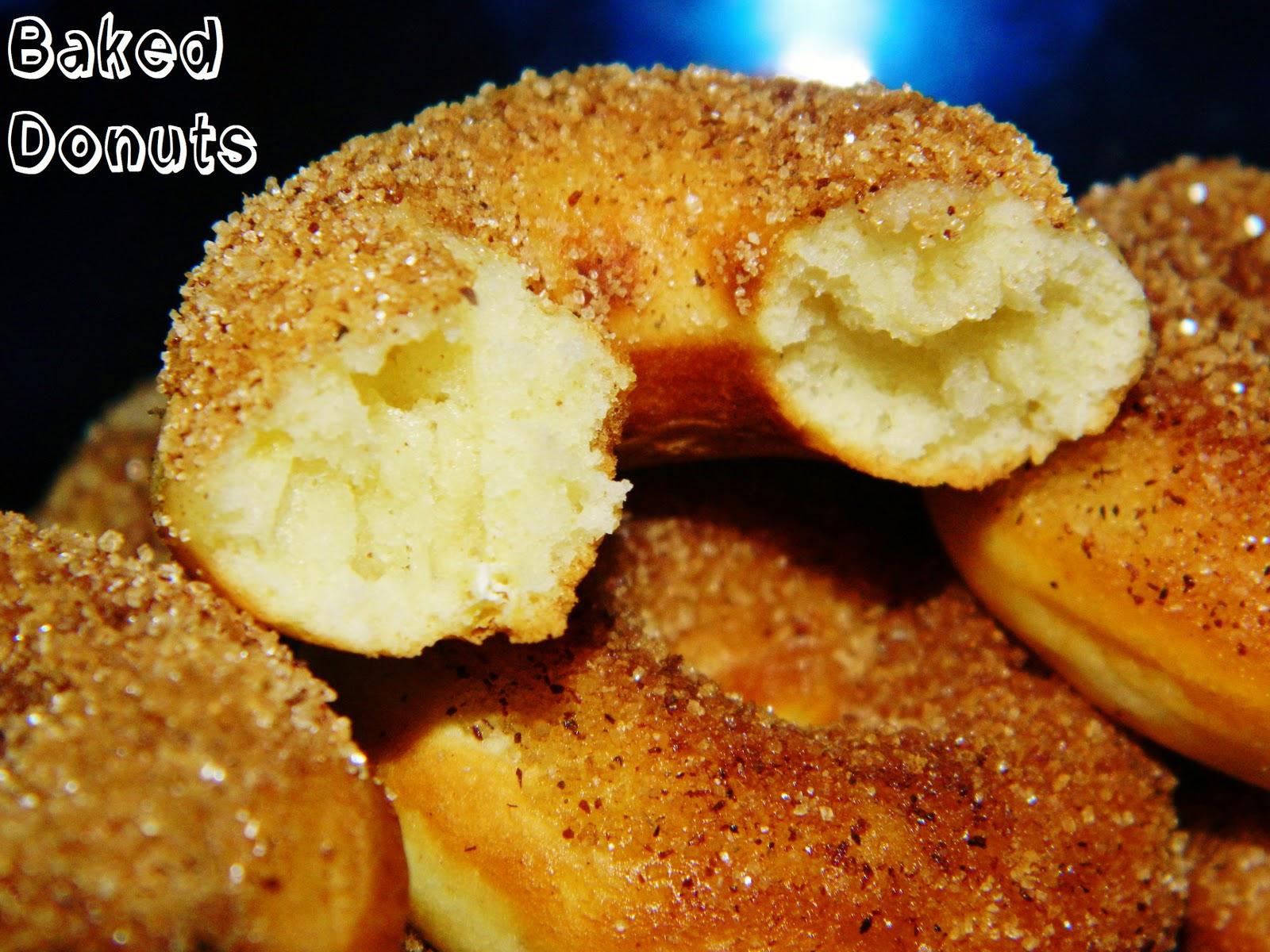 Baked Donuts Recipe Dishmaps