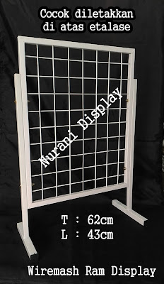 Rak Mundo Standing Wiremesh Ram Display