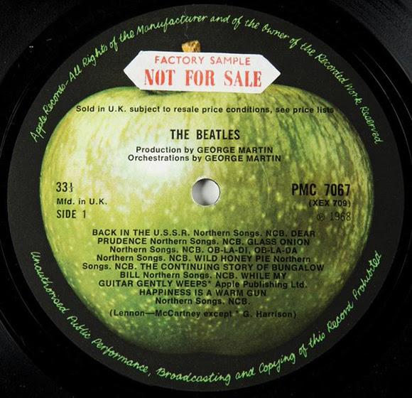 Le premier exemplaire de «The Beatles» bat tous les records