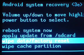 Menu recovery mode hp samsung