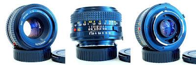 Minolta MD Rokkor-X 50mm 1:2 #519