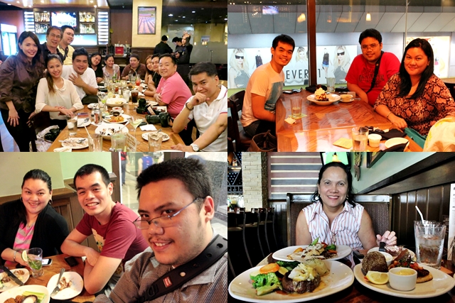 YedyLicious at Outback Steakhouse Philippines