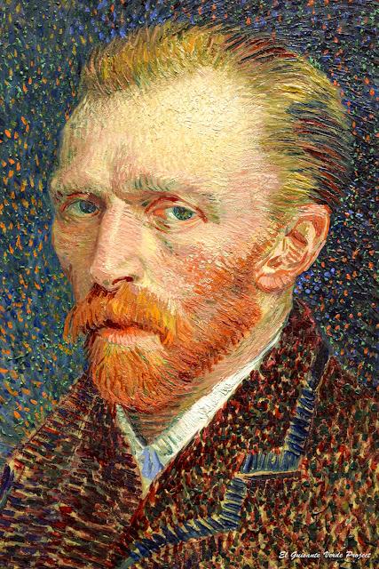 Van Gogh, Autorretrato (1887) - Art Instiute, Chicago por El Guisante Verde Project