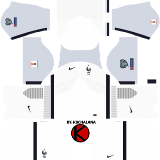 France Nike Kits 2017 - Dream League Soccer