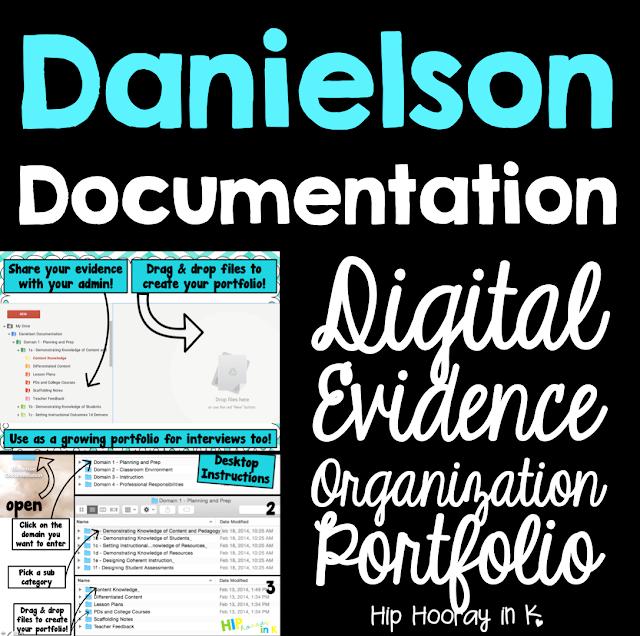 https://www.teacherspayteachers.com/Product/Danielson-Documentation-Evidence-Organization-Portfolio-for-Teachers-1121004