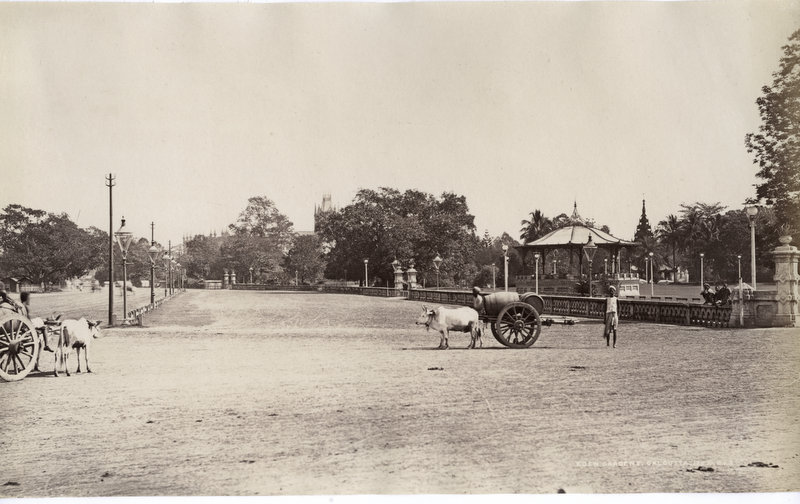 Eden Gardens in Calcutta (Kolkata) - Late 19th Century