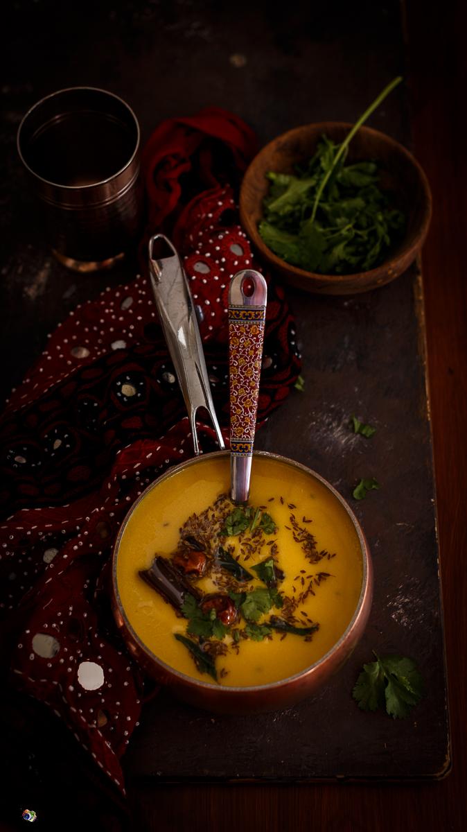 Gujarati-Mango-Kadhi-Jagruti's Cooking-Odyssey