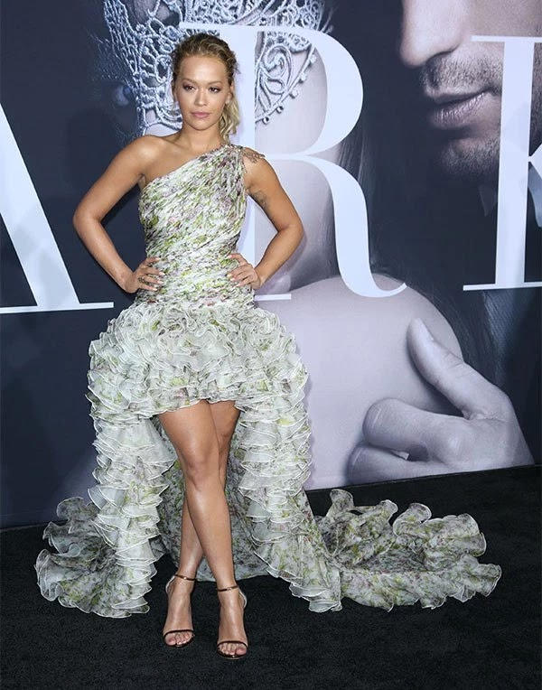 Rita Ora attends the 'Fifty Shades Darker' Premiere in LA on Feb. 2,
