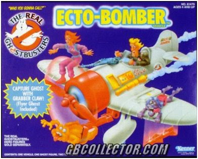 The REAL Ghostbusters Kenner Ecto-Bomber Vehicle