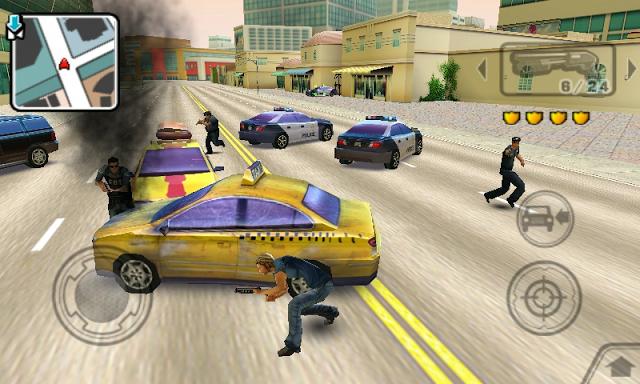 تحميل لعبة gangstar