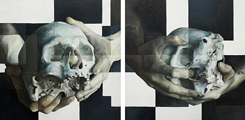 Paintings by Nacho Puerto from Spain.