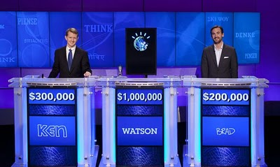 IBM WATSON at american quiz show jeopardy: intelligent computing