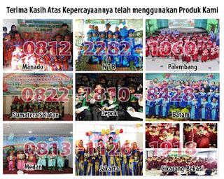 jual baju toga wisuda anak PAUD, TK, SD, SMP di palembang