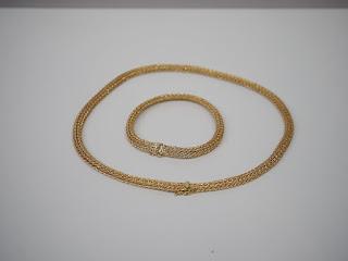 K18(18金)製のネックレスを買い取り致しました K18イエローゴールド製品なら色々な種類のアクセサリーを査定出来ます