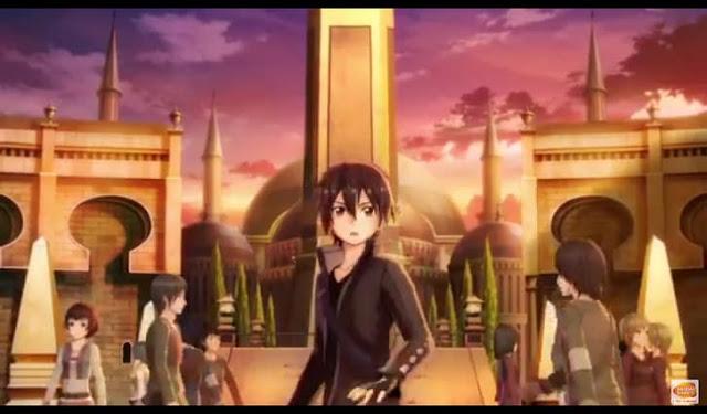 Second screenshot from Sword Art Online: Hollow Realization PC trailer