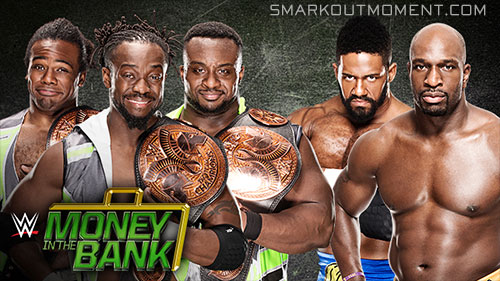 WWE Money in the Bank New Day vs Prime Time Players
