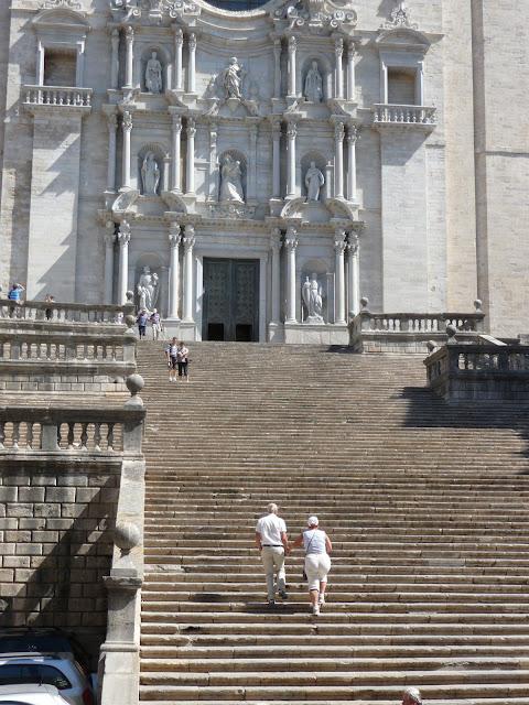 Лестница 17 века Кафедрального собора Жироны