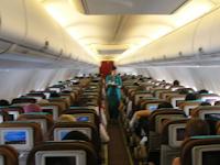 Akibat Salah bangku Pesawat