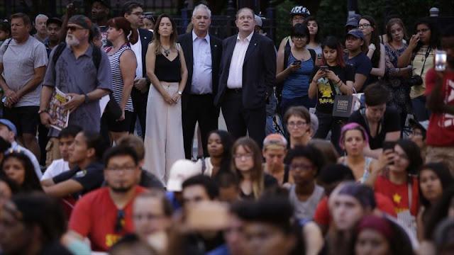 Protestan en Chicago contra conducta racista de policías