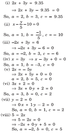 Linear Equations in Two Variables - Class 9 CBSE Guide | NCERT Solutions Mathematics Exercise 4.1