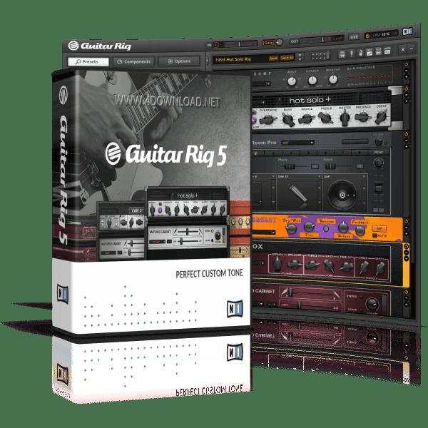 Native Instruments - Guitar Rig 5 Pro v5.2.2 Full version