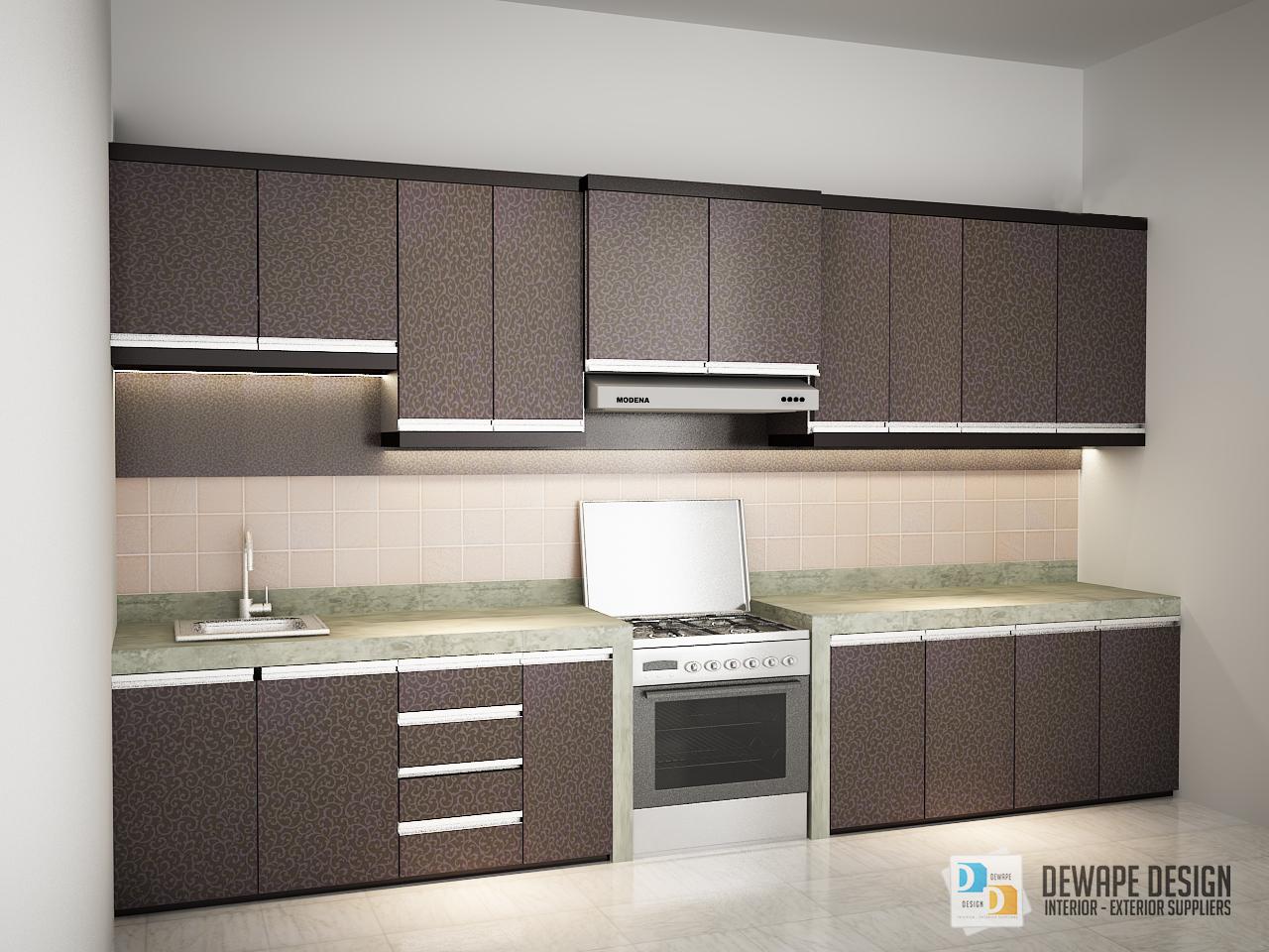 Kitchen set minimalis hpl di kota malang kitchen set for Kitchen set hpl