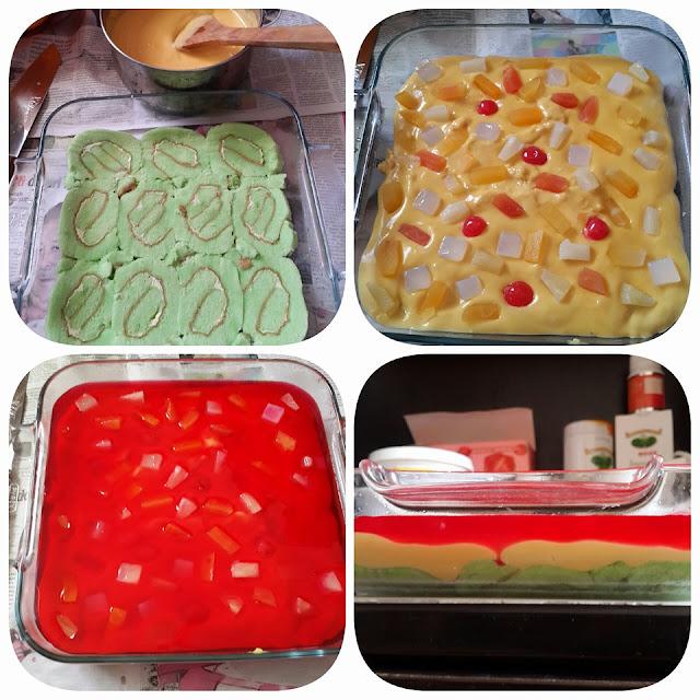 Resepi Puding Trifle Sedap Dan Senang