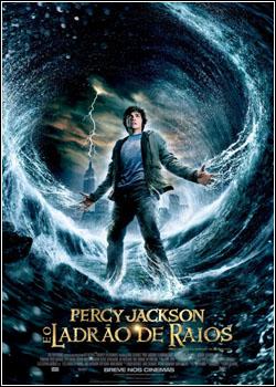 baixar capa Percy Jackson e o Ladrão de Raios   Dual Áudio