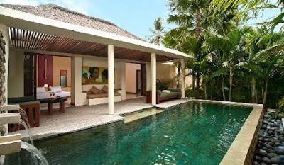 Fasilitas hotel Qunci Villas lombok