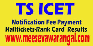 TS ICET 2016 Notification   Application Form   Syllabus   Exam pattern   Previous Question Papers