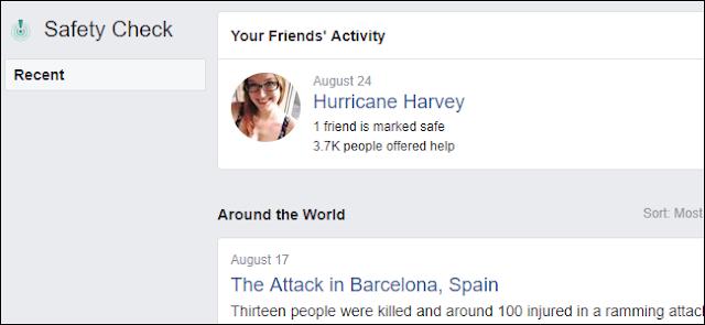 Raccolta fondi Facebook per le emergenze naturali