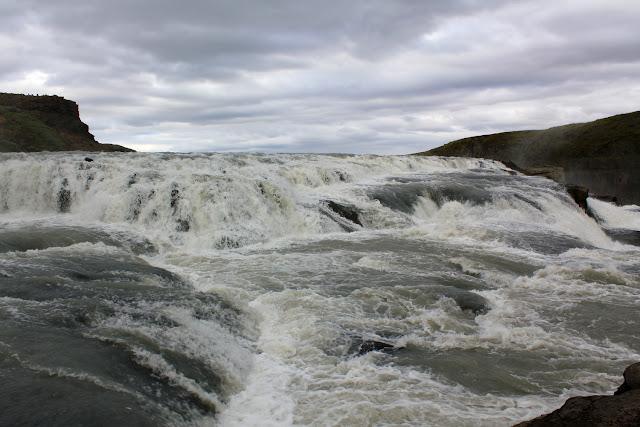 La corriente de agua de Gullfoss
