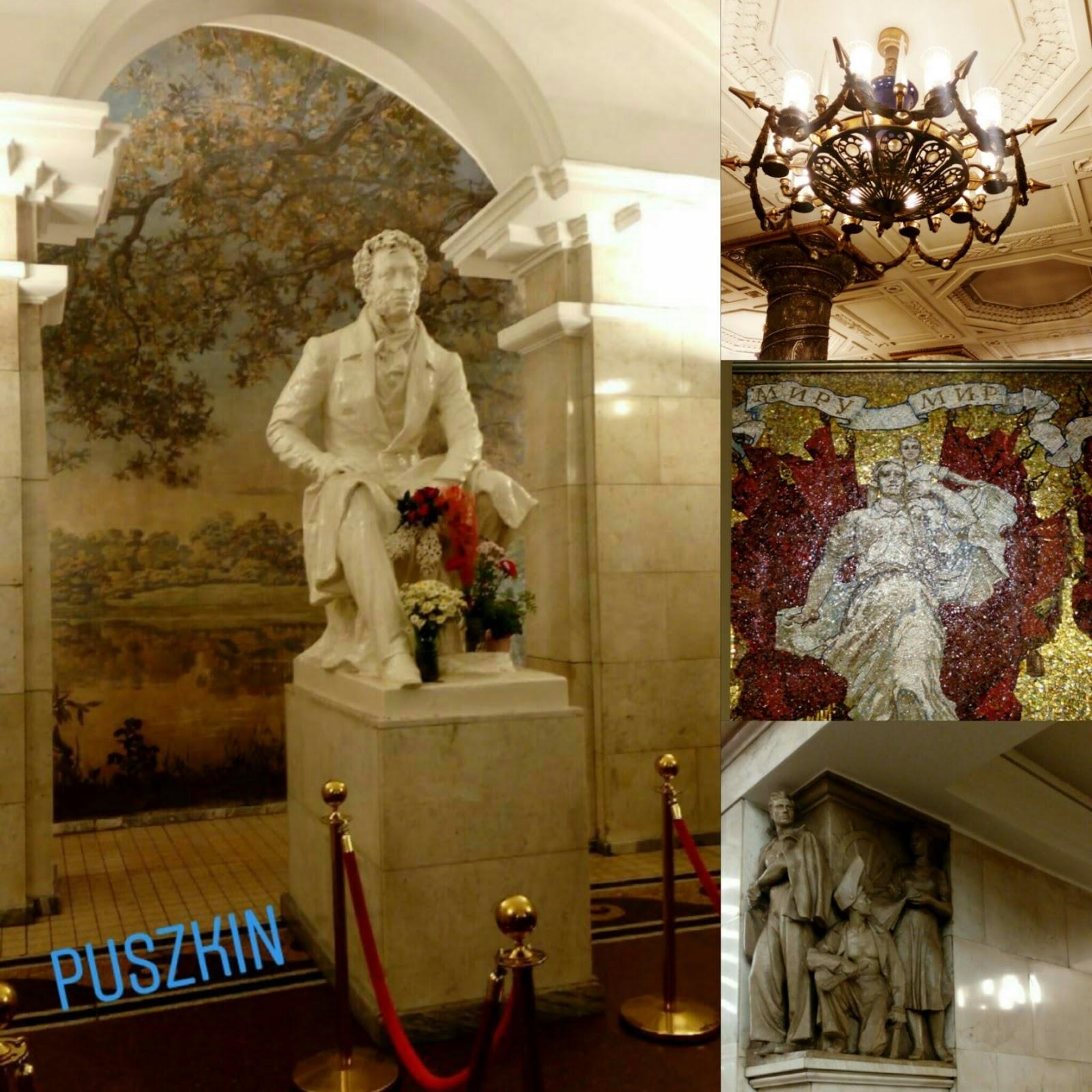 Metro w Petersburgu, bogate stacje metra