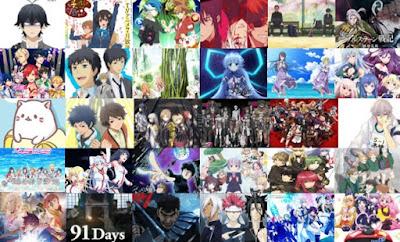 Los animes populares en Top 10 obras de esta temporada