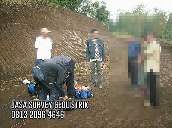 JASA SURVEY GEOLISTRIK AIR TANAH BANDUNG