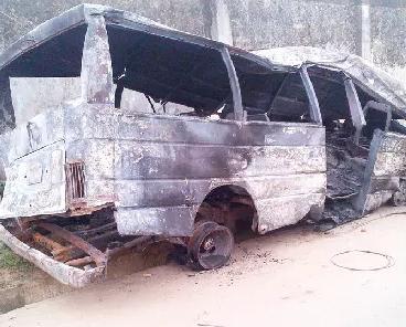 9 burnt to death ebonyi state